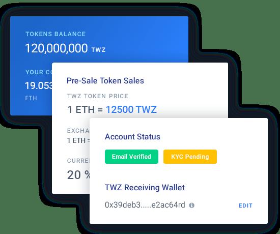 TokenWiz - ICO Dashboard & ICO Admin Template